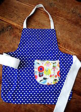 Textil - Zásterka s vtáčikmi - 8819734_