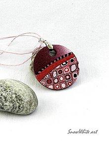 Náhrdelníky - Veselý Klimt - 8816725_