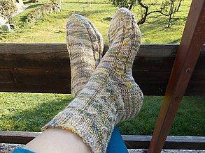 Obuv - Ponožky dámske - 8820272_