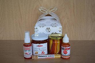 Potraviny - Vianočný chilli balíček 1 - 8819310_