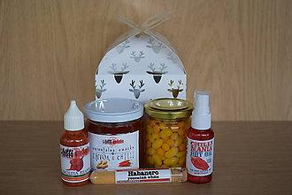 Potraviny - Vianočný chilli balíček 2 - 8819488_