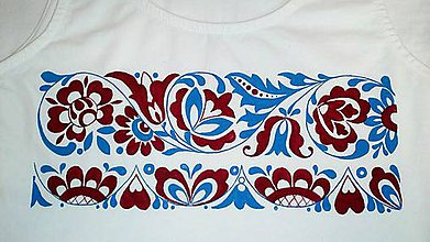 Tričká - Slovenská ornamentika - 8822280_