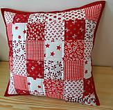 Úžitkový textil - Vankúš - kocky - 8819397_