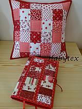 Úžitkový textil - Vankúš - kocky - 8819398_