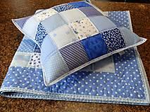 Úžitkový textil - Vankúš - kocky - 8819698_
