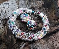 Sady šperkov - COLORAMA WINTER NET - vyskladaj si vlastnú sadu - 8817292_