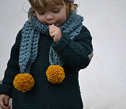 Detské doplnky - Bambule...morská - 8821026_
