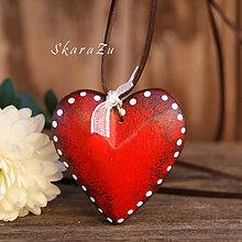 Náhrdelníky - Heart dots / 3D - 8819833_