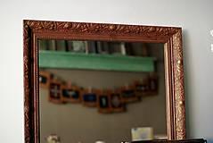 Zrkadlá - Zrkadlo s pozláteným vzorom - 8818112_