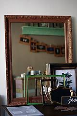 Zrkadlá - Zrkadlo s pozláteným vzorom - 8818113_