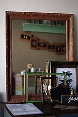 Zrkadlá - Zrkadlo s pozláteným vzorom - 8818114_
