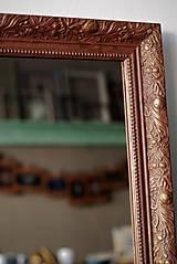 Zrkadlá - Zrkadlo s pozláteným vzorom - 8818121_
