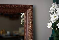 Zrkadlá - Zrkadlo s pozláteným vzorom - 8818122_