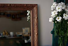 Zrkadlá - Zrkadlo s pozláteným vzorom - 8818124_