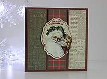 Papiernictvo - Vianočná pohľadnica - 8818714_