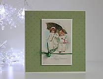 Papiernictvo - Vianočná pohľadnica - 8818726_