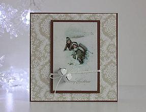 Papiernictvo - Vianočná pohľadnica - 8818616_