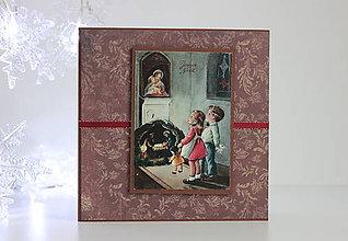Papiernictvo - Vianočná pohľadnica - 8818668_