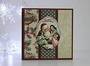Papiernictvo - Vianočná pohľadnica - 8818705_