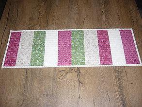 Úžitkový textil - Obrus,dečka,prestieranie obojstranné - 8816792_