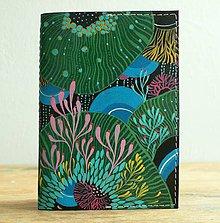 Peňaženky - Podmořský vesmír - kožená dokladovka/obal na cestovní pas - 8821031_