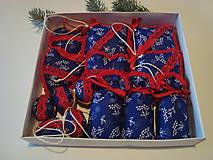 Vianočný set z modrotlače