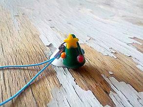 Na mobil - AKCIA! vianočný stromček-prívesok - 8821889_