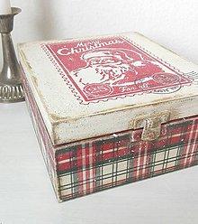 Krabičky - Vianočný čajík - 8824927_