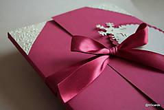 Papiernictvo - Vianočný obal na foto, obraz A4 - 8828583_