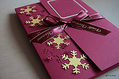 Papiernictvo - Vianočný obal na foto, obraz A4 (vzor 2) - 8828591_