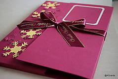 Papiernictvo - Vianočný obal na foto, obraz A4 (vzor 2) - 8828592_