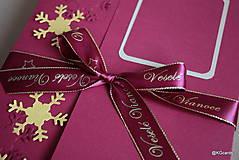 Papiernictvo - Vianočný obal na foto, obraz A4 (vzor 2) - 8828593_