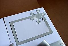 Papiernictvo - Vianočný obal na foto, obraz A4 (vzor 4) - 8828600_