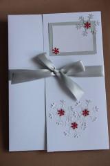 Papiernictvo - Vianočný obal na foto, obraz A4 (vzor 4) - 8828601_