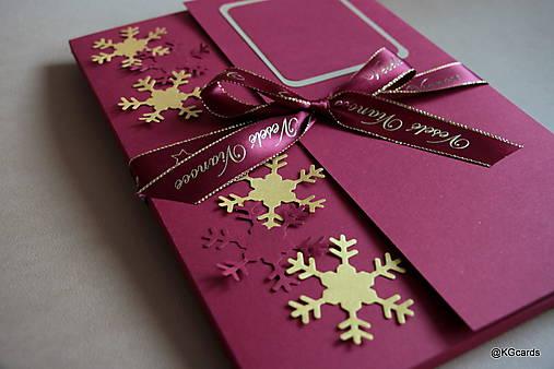Vianočný obal na foto, obraz A4 (vzor 2)