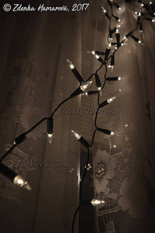 Fotografie - Vianočné svetielka - 8828364_