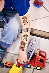 Nezaradené - Dočasné tetovačky - Autíčkové (25) - 8824694_