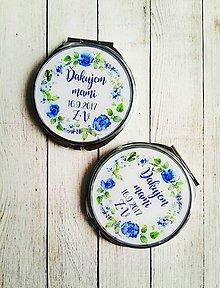Darčeky pre svadobčanov - Svadobné zrkadielko - 8823906_