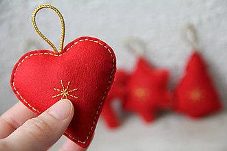 Dekorácie - Vianočné ozdoby - sada - 8826432_