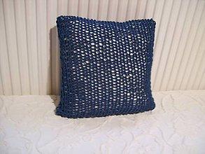 Úžitkový textil - Obliečka tmavomodrá - 8825606_