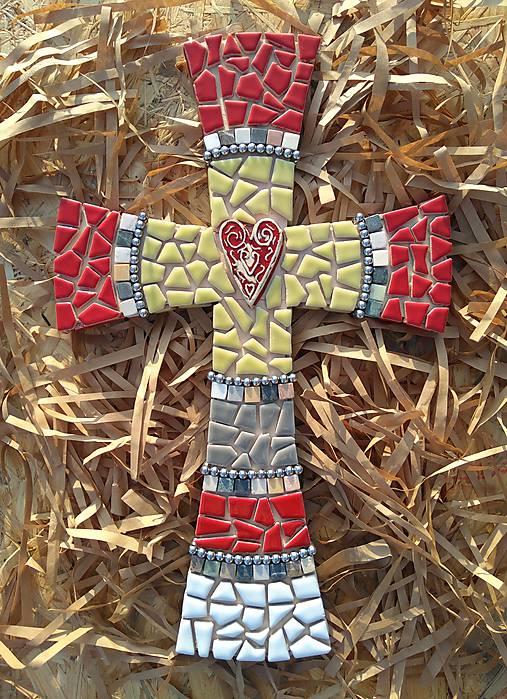 Kríž perličkový