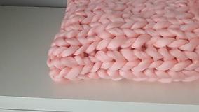 Úžitkový textil - Chunky deka - 8823089_