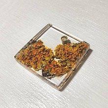 Náhrdelníky - Lišajníkový šperk - 8823038_