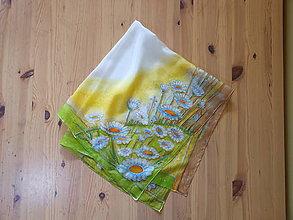 Šatky - Maľovaná šatka_ Margaret Y - 8825459_