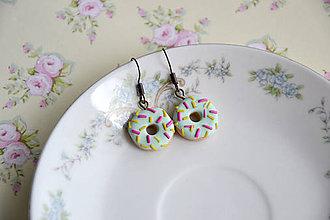Náušnice - Donut (Pastelový 1) - 8826975_