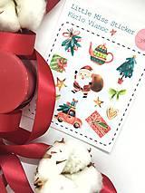 Drobnosti - Kúzlo Vianoc (nálepky) - 8827093_