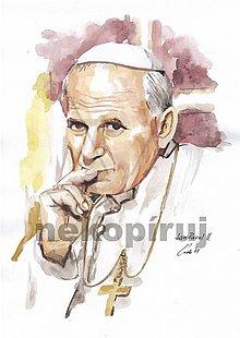 Kresby - Ján Pavol II. - 8826296_