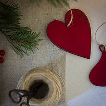 Dekorácie - Kardinálske Vianoce - 8827064_