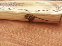 Nádoby - Tácka na zákusky 50x30cm - 8823198_