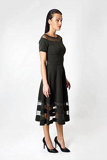 Šaty - Zelené šaty čipka - 8830494_